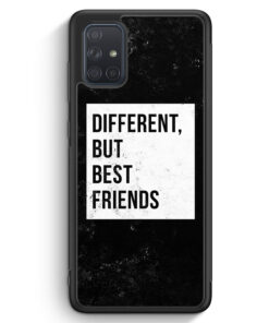 Samsung Galaxy A71 Silikon Hülle - Different But Best Friends