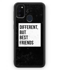 Samsung Galaxy M30s Silikon Hülle - Different But Best Friends