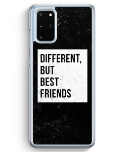Samsung Galaxy S20+ Plus Hülle - Different But Best Friends