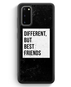 Samsung Galaxy S20 Silikon Hülle - Different But Best Friends