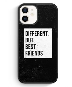 iPhone 12 mini Silikon Hülle - Different But Best Friends
