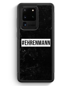 Samsung Galaxy S20 Ultra Silikon Hülle - #Ehrenmann