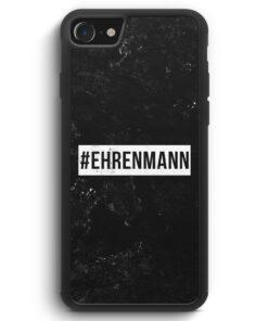 iPhone SE 2020 Silikon Hülle - #Ehrenmann