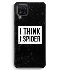 Samsung Galaxy A12 Silikon Hülle - I Think I Spider