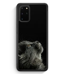 Samsung Galaxy S20+ Plus Silikon Hülle - Katze Himmel