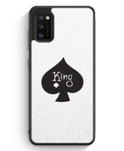 Samsung Galaxy A31 Silikon Hülle - King Spielkarten #01