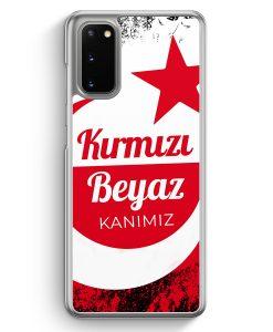Samsung Galaxy S20 Hülle - Kirmizi Beyaz Kanimiz Türkei Türkiye
