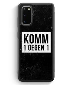 Samsung Galaxy S20 FE Silikon Hülle - Komm 1 Gegen 1