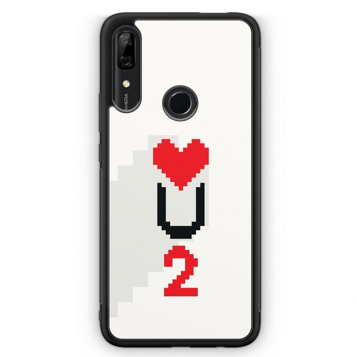 Huawei P Smart Z Silikon Hülle - Love U2 #02 Pixel