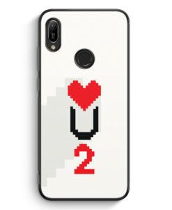 Huawei Y6s Silikon Hülle - Love U2 #02 Pixel