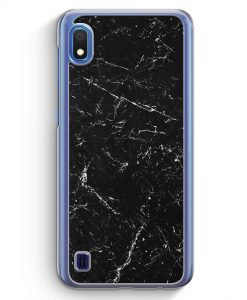 Samsung Galaxy A10 Hülle - Marmor Marble Schwarz