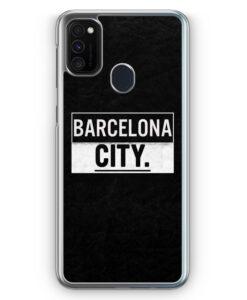 Samsung Galaxy M21 Hülle - Barcelona CITY