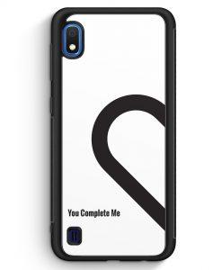 Samsung Galaxy A10 Silikon Hülle - You Complete Me #01