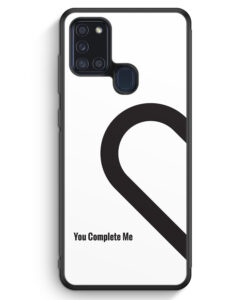 Samsung Galaxy A21s Silikon Hülle - You Complete Me #01