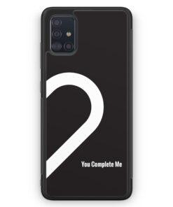 Samsung Galaxy A51 Silikon Hülle - You Complete Me #02