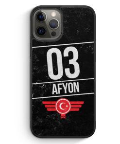 iPhone 12 Pro Silikon Hülle - Afyon 03
