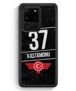 Samsung Galaxy S20 Ultra Silikon Hülle - Kastamonu 37