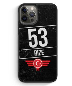 iPhone 12 Pro Max Silikon Hülle - Rize 53