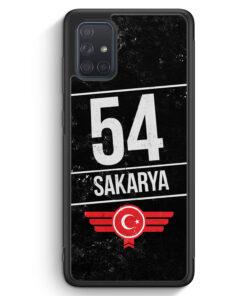 Samsung Galaxy A71 Silikon Hülle - Sakarya 54