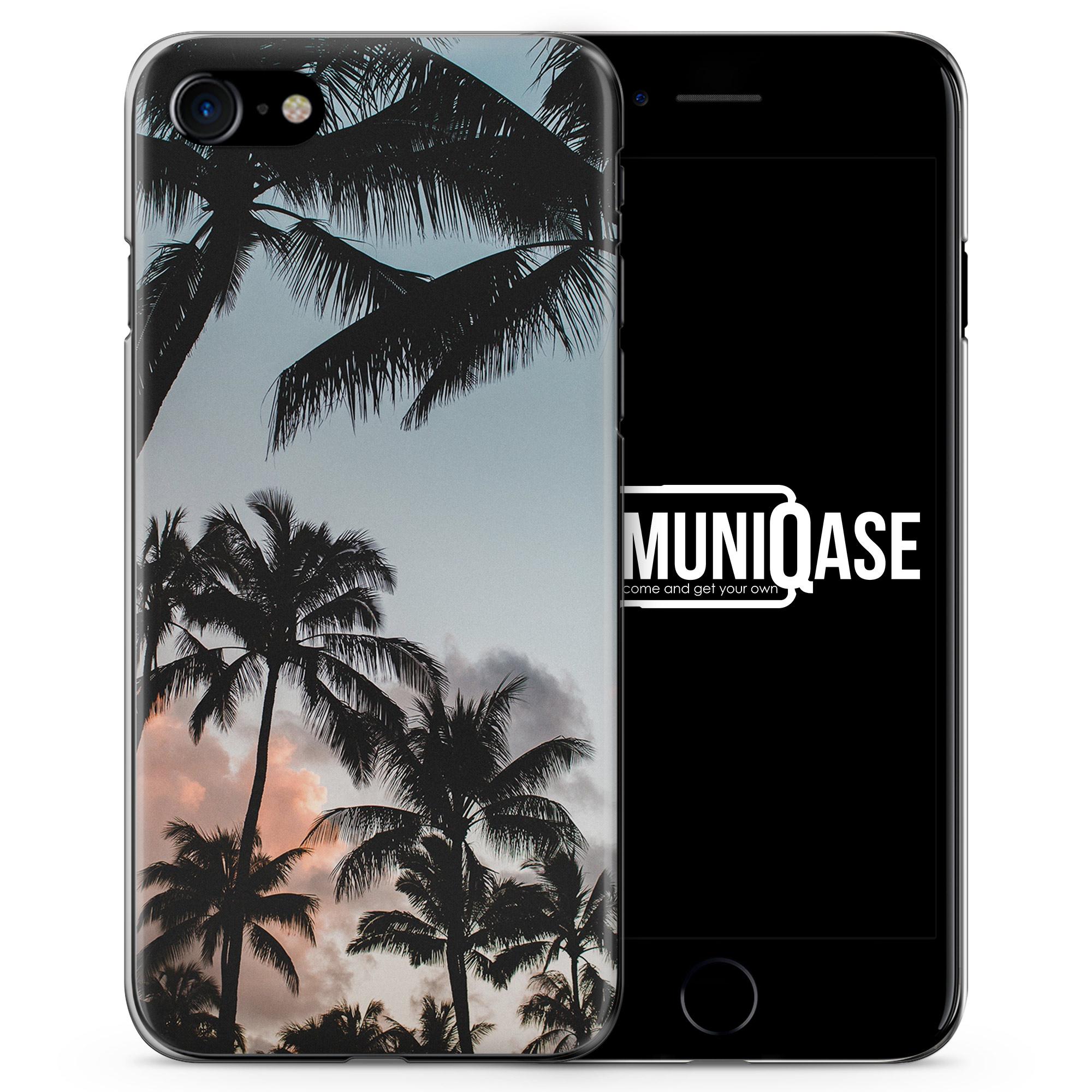 Palmen Landschaft Tropical - Slim Handyhülle für iPhone 7