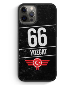 iPhone 12 Pro Silikon Hülle - Yozgat 66
