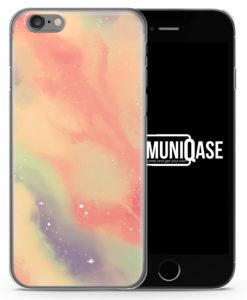 Pastell Galaxy Vintage Muster - Slim Handyhülle für iPhone 6 Plus & 6s Plus