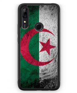 Huawei P Smart Z Silikon Hülle - Algerien Splash Flagge