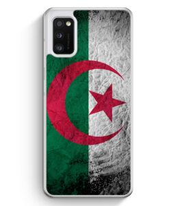 Samsung Galaxy A41 Hülle - Algerien Splash Flagge