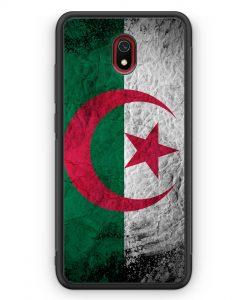 Xiaomi Redmi 8A Silikon Hülle - Algerien Splash Flagge