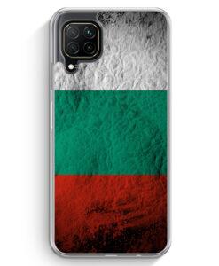 Huawei P40 lite Hülle - Bulgarien Splash Flagge