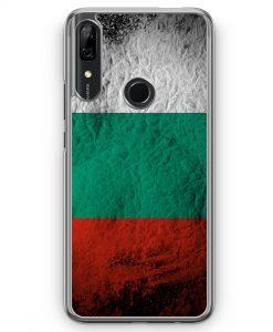 Huawei P Smart Z Hülle - Bulgarien Splash Flagge