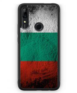 Huawei P Smart Z Silikon Hülle - Bulgarien Splash Flagge