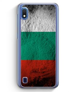 Samsung Galaxy A10 Hülle - Bulgarien Splash Flagge