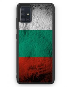 Samsung Galaxy A51 Silikon Hülle - Bulgarien Splash Flagge