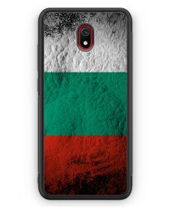 Xiaomi Redmi 8A Silikon Hülle - Bulgarien Splash Flagge