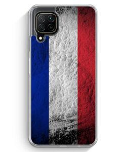 Huawei P40 lite Hülle - Frankreich Splash Flagge