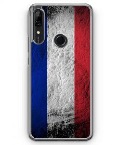 Huawei P Smart Z Hülle - Frankreich Splash Flagge