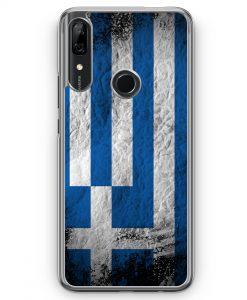 Huawei P Smart Z Hülle - Griechenland Splash Flagge
