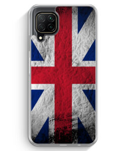 Huawei P40 lite Hülle - Großbritannien Splash Flagge
