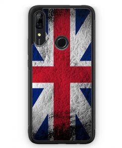 Huawei P Smart Z Silikon Hülle - Großbritannien Splash Flagge