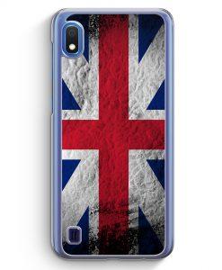 Samsung Galaxy A10 Hülle - Großbritannien Splash Flagge