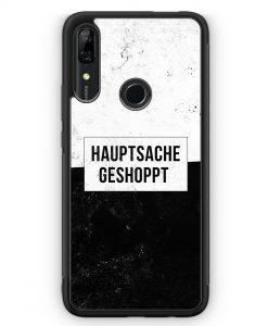 Huawei P Smart Z Silikon Hülle - Hauptsache Shoppen