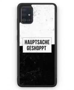 Samsung Galaxy A51 Silikon Hülle - Hauptsache Shoppen