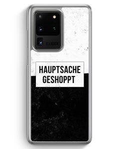 Samsung Galaxy S20 Ultra Hülle - Hauptsache Shoppen