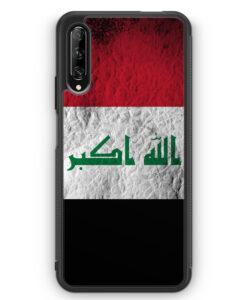 Huawei P Smart Pro Silikon Hülle - Irak Splash Flagge