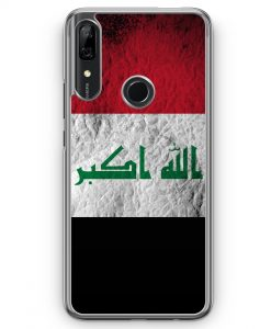 Huawei P Smart Z Hülle - Irak Splash Flagge
