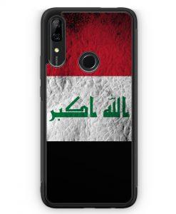 Huawei P Smart Z Silikon Hülle - Irak Splash Flagge