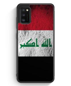 Samsung Galaxy A31 Silikon Hülle - Irak Splash Flagge