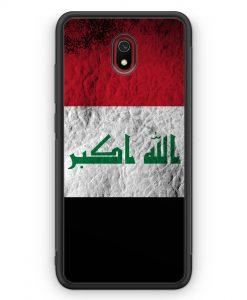 Xiaomi Redmi 8A Silikon Hülle - Irak Splash Flagge