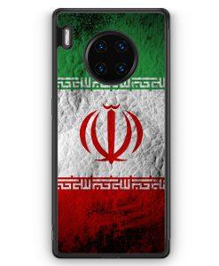 Huawei Mate 30 Pro Silikon Hülle - Iran Splash Flagge